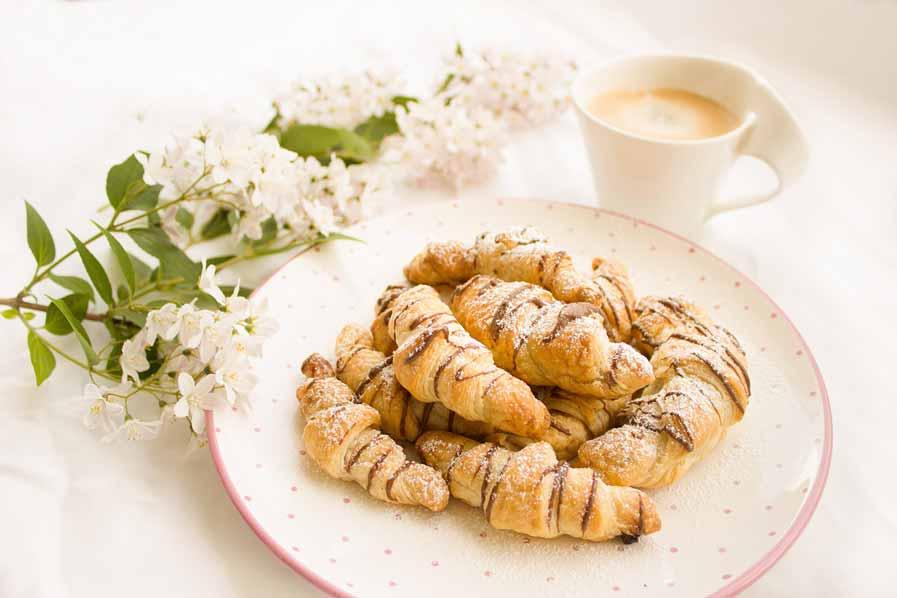 Chocolade Croissantjes