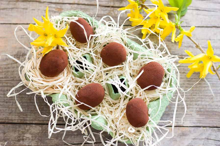 Melkchocolade truffels