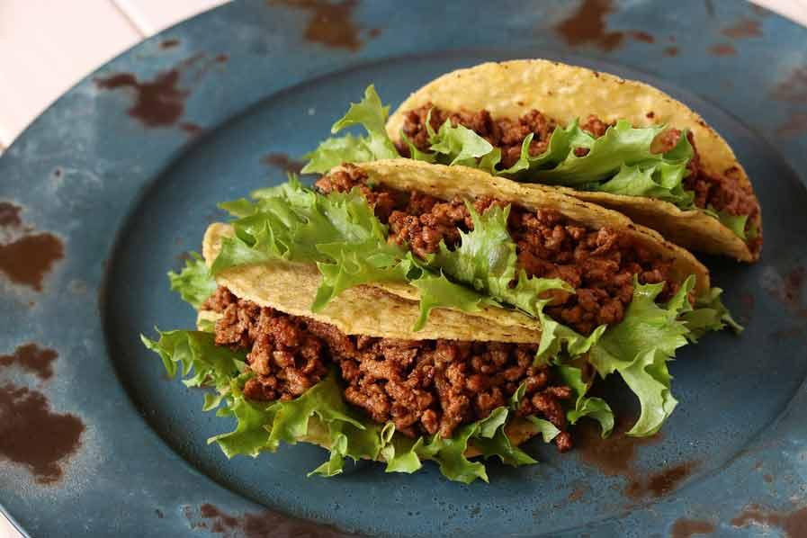 Taco's met gehakt